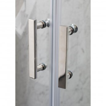 Cali Cass Six Offset Quadrant Shower Enclosure 1200mm x 900mm - 6mm Glass
