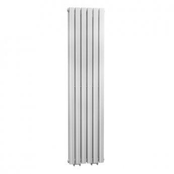Cali Celsius Double Panel Designer Vertical Radiator - 1800mm High x 354mm Wide - White