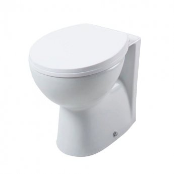 Cali Churwell Back to Wall Toilet - Soft Close Seat - MDF