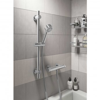 Cali Round Bar Mixer Shower with Shower Kit