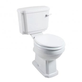Cali Cromford Traditional Close Coupled Toilet - Lever Cistern - Excluding Seat