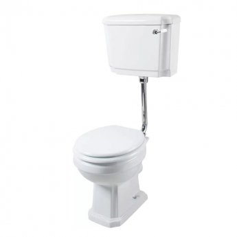 Cali Cromford Traditional Low Level Toilet - WC Lever Cistern - Excluding Seat