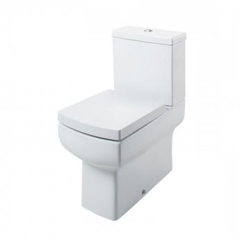 Cali Daisy Lou Fully Back to Wall Close Coupled Toilet - Quick Release Seat