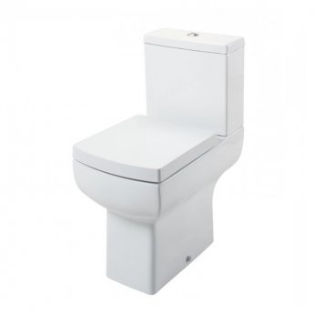 Cali Daisy Lou Comfort Height Close Coupled Toilet - Quick Release Seat