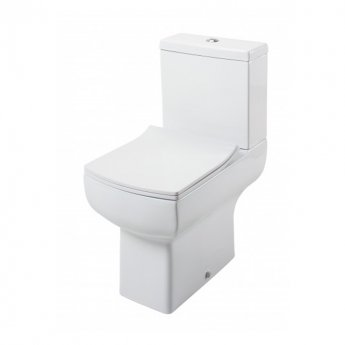 Cali Daisy Lou Comfort Height Close Coupled Toilet - Slimline Seat