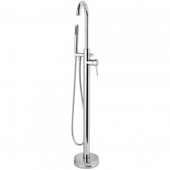 Cali Dalton Round Freestanding Bath Shower Mixer Tap - Chrome