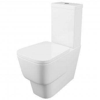 Cali Dearne Close Coupled Toilet - Quick Release Seat