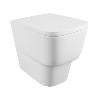 Cali Dearne Back To Wall Toilet - Quick Release Seat
