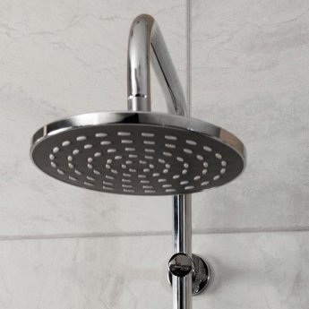 Cali Drum Bar Mixer Shower with Fixed Head
