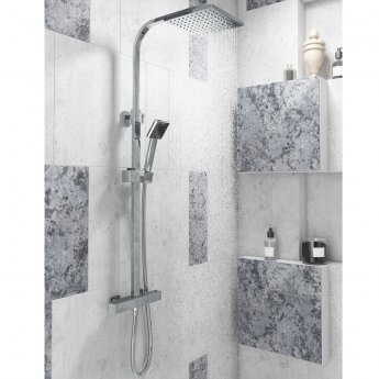 Cali Epic Bar Mixer Shower with Shower Kit + Fixed Head