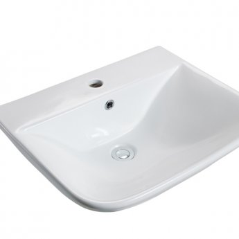 Cali Fair Basin with Full Pedestal - 550mm Wide - 1 Tap Hole