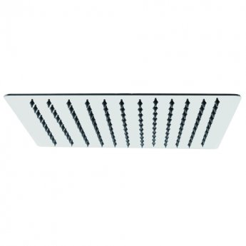 Cali Slim Profile 300mm Square Shower Head - Stainless Steel
