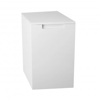 Cali Henley Right Handed Side Cabinet 300mm Wide - Gloss White