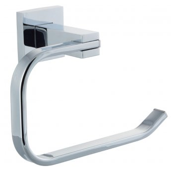 Cali Iris Bathroom Toilet Paper Holder - Chrome