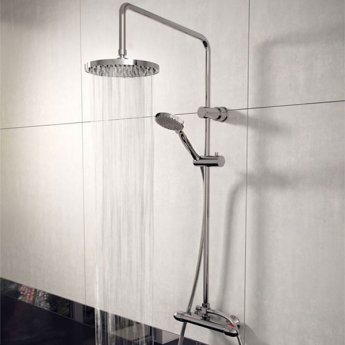 Cali Lagos Bar Mixer Shower with Shower Kit + Fixed Head