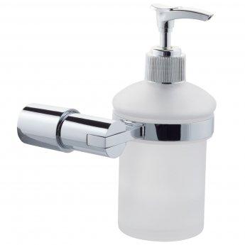 Cali Lilly Soap Dispenser - Chrome Bathroom Accessory