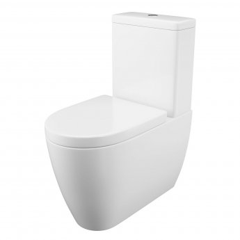 Cali Loxley Fully Cloaked Close Coupled Toilet - Quick Release Seat