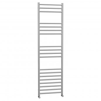 Cali Luxe Straight Heated Towel Rail 1600mm H x 450mm W Stainless Steel
