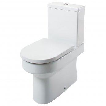Cali Montego Fully Back to Wall Close Coupled Toilet - Quick Release Seat