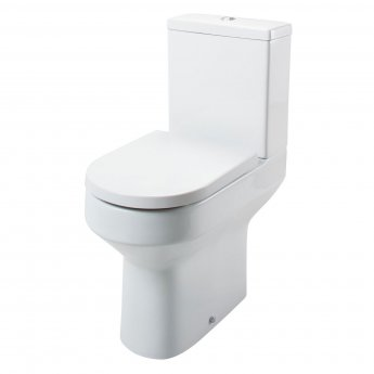 Cali Montego Comfort Height Close Coupled Toilet - Quick Release Seat