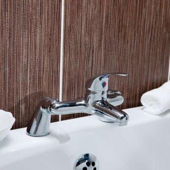 Cali Rio Bath Filler Tap - Deck Mounted - Chrome