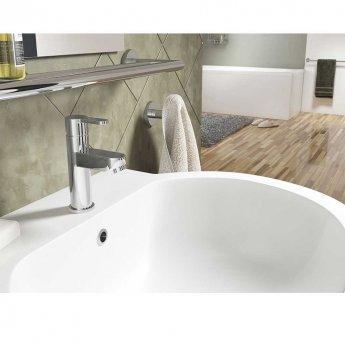 Cali Roma Mono Basin Mixer Tap Deck Mounted - Chrome