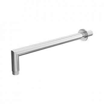 Cali Wall Mounted Round Shower Arm 343mm Length - Chrome