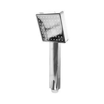Cali Square Paddle Shower Handset - Chrome