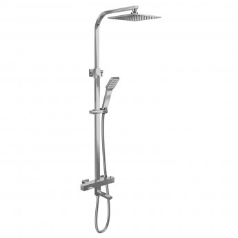 Cali Socorro Thermostatic Bar Shower Valve with Shower Kit and Bath Filler + Fixed Head