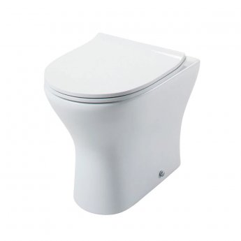 Cali Spek Back to Wall Toilet Pan with Soft Close Quick Release Slimline Seat