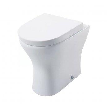 Cali Spek Back to Wall Toilet Pan with Soft Close Quick Release Wrapover Seat