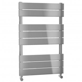 Cali Swift Designer Heated Towel Rail 800mm H x 500mm W with Flat Profile Rail - Chrome