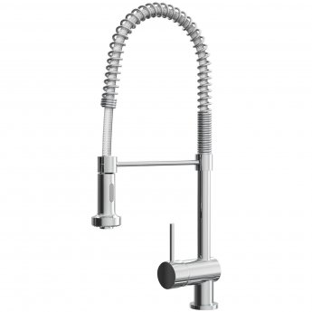 Cali Kitchen Sink Pull-Out Mixer Tap Flexible Spray - Chrome