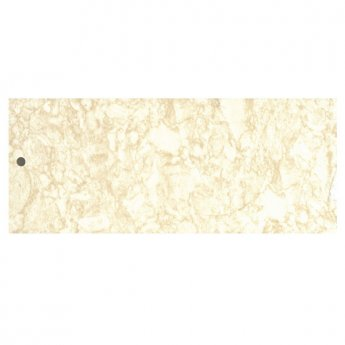 Cali Tongue and Groove Wet Wall Shower Panel 2400mm x 1000mm x 2 Panels 10mm - Travertine