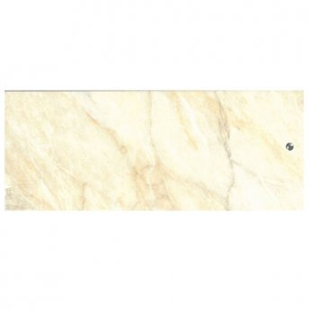 Cali Tongue and Groove Wet Wall Shower Panel 2400mm x 1000mm x 2 Panel Pack 10mm - Beige Marble
