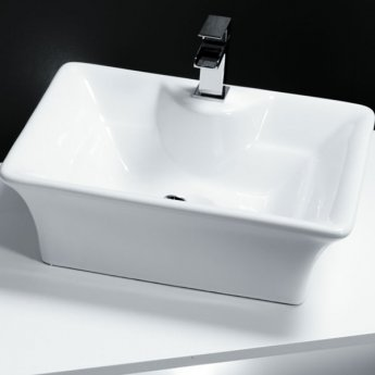 Cali Vessel Counter Top Basin - 490mm Wide - 1 Tap Hole