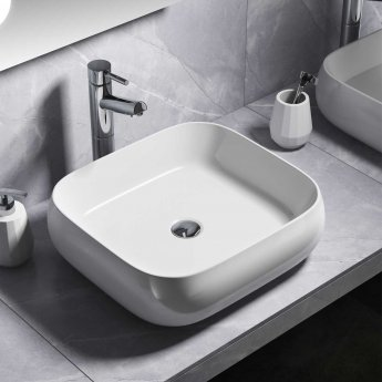 Cali Vessel Counter Top Basin - 450mm Wide - 0 Tap Hole