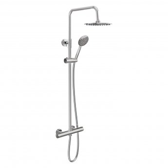 Cali Videira Thermostatic Bar Shower Valve with Shower Kit + Fixed Head