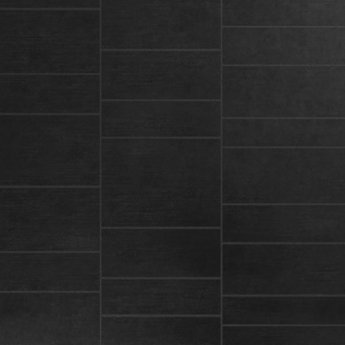 Cali Wetroom Shower Wall 2 Panels 2400mm x 600mm x 7mm - Black Stone Tile Effect