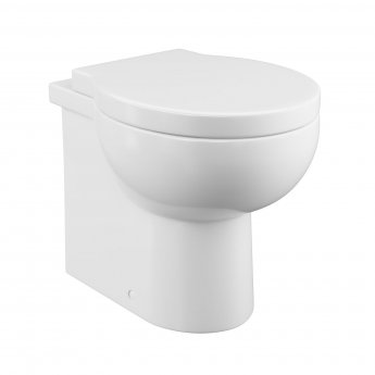 Cali Wharfe Back To Wall Toilet - Quick Release Seat