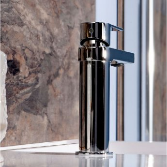 Cali Wind Mono Basin Mixer Tap - Deck Mounted - Chrome
