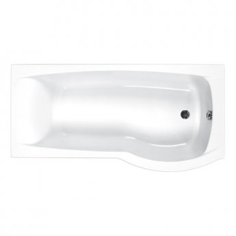 Carron Aspect P-Shaped Shower Bath 1700mm x 700/800mm Right Handed 5mm - Acrylic