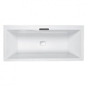 Carron Celsius DE 1700mm x 750mm Rectangular Bath Inc.HC3365-CAB-SQ - Left Handed - White