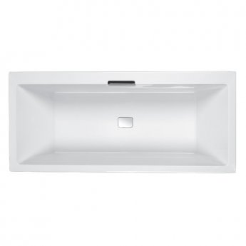 Carron Celsius DE 1700mm x 750mm Bath with Overflow Filler and Waste - Right Hand