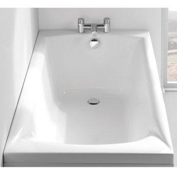 Carron Delta Rectangular Bath 1500mm x 700mm 5mm - Acrylic