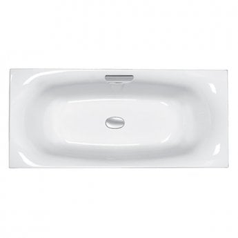 Carron Echelon Double Ended Rectangular Bath 1800mm x 800mm - Carronite