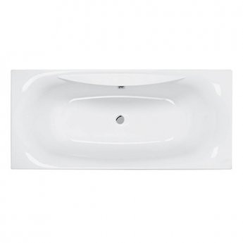 Carron Equity 1800mm x 800mm Rectangular Double Ended Bath - Carronite