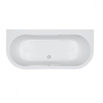 Carron Halcyon D 1750mm x 800mm Bath - 5mm Acrylic - White