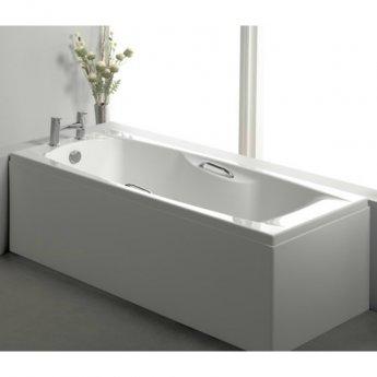 Carron Imperial TG 1400mm x 700mm Rectangular Bath with Grips - 5mm Acrylic