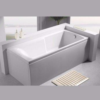 Carron Index Single Ended Rectangular Bath 1700mm x 750mm - Carronite